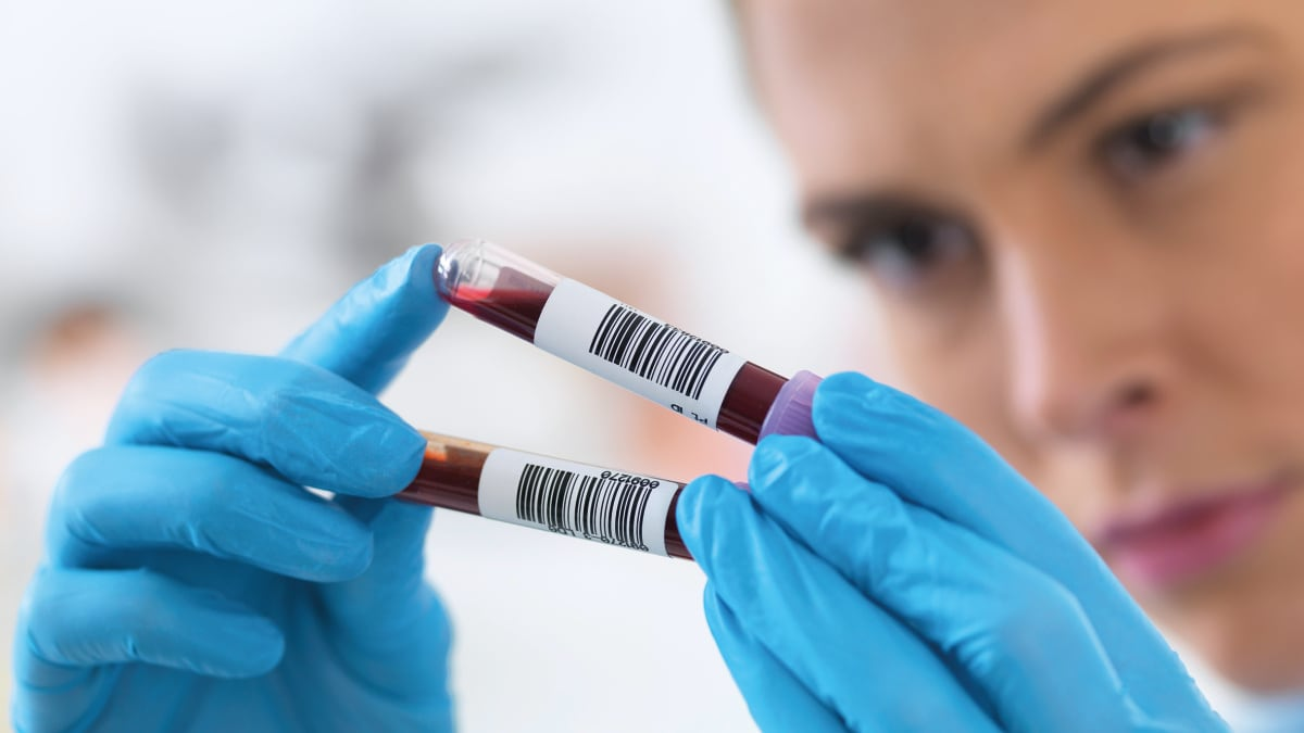 Using liquid biopsy to guide clinical trial enrollment for patients with cancer