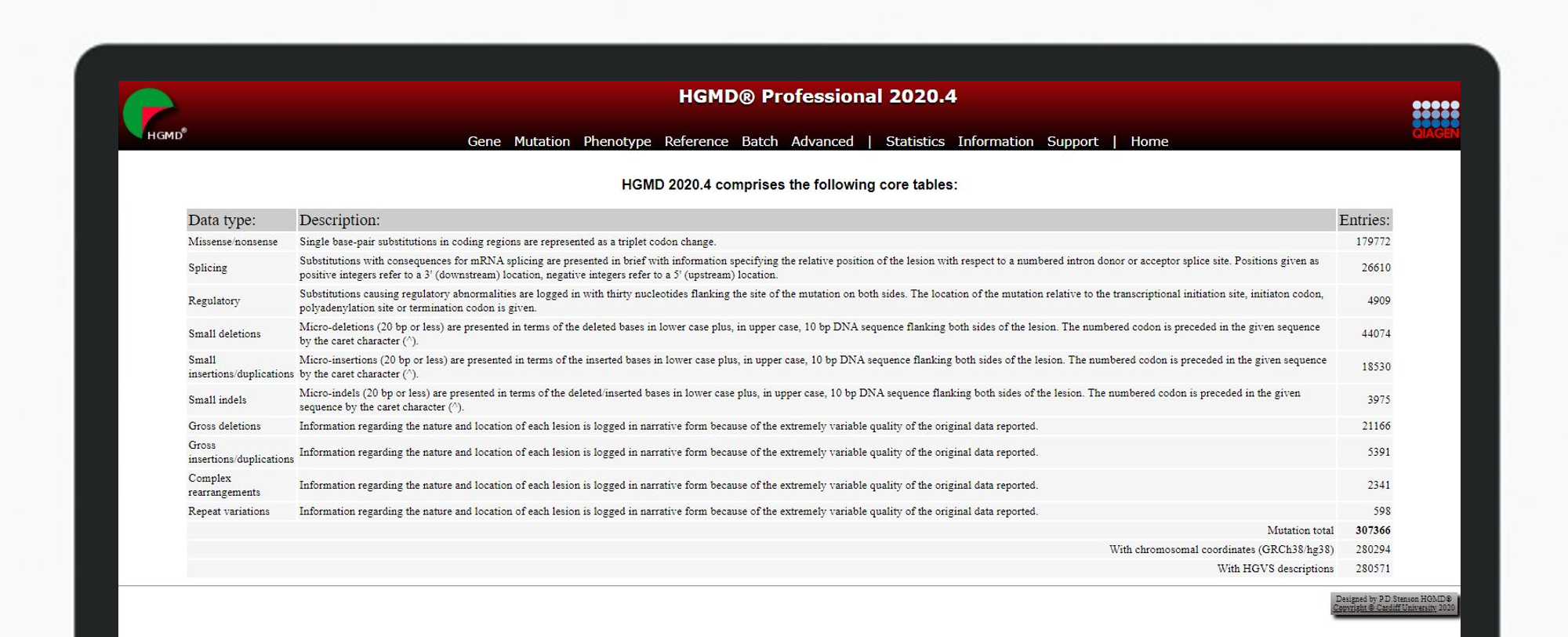 HGMD Professional 2020.4 Release